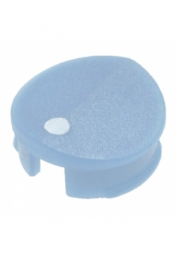 Prismatic cap for short knobs, blue, m..