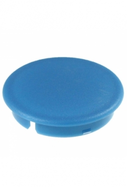 Curved cap, blue, mat finish