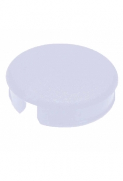 Curved cap for short knobs, red, glossy
