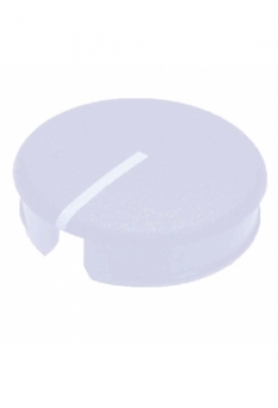 Curved cap for short knobs, blue, glos..