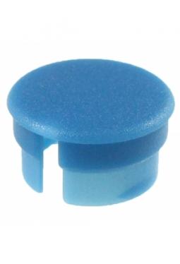 Curved cap, blue, mat finish